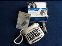 Geemarc CL100 Multifunction telephone As new! Recommended for those with hearing difficulties.