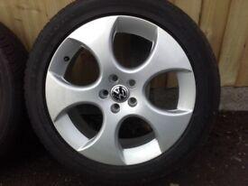 17 inch VW Golf Wheels