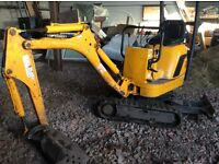 JCB 8008 Micro DIGGER 2007 1802 hrs