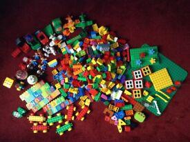 Lego Duplo Bundle Bricks, boards, Disney Planes, trains, farm, fire, vehicles, accessories RRP £100+