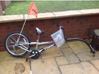 Trek 6 geared tag along excellent condition.