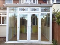 Conservatory French doors and windows
