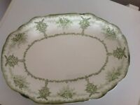 Large oval meat plate
