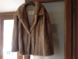 Ladies mink coat