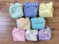 Wonderoos Full Time Kit reusable nappies pre-loved