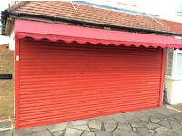 ELECTRIC SECURITY ROLLER SHUTTER