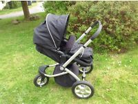 Mothercare MY3 complete travel system pram / pushchair (excellent condition)