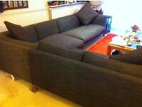 Habitat Newman large L shaped sofa set. Smoke free house. Good condition