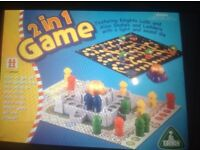 ELC 2 in 1 game Knights Ludo & Alien Snakes and Ladders