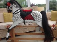 Traditional rocking horse by Collinsons 46inches tall