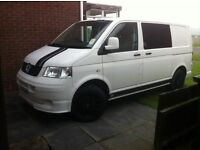 VW T5 camper van, very good condition, only 70,000 miles