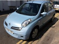 NISSAN. MICRA SE AUTOMATIC 5. DOOR. HATCHBACK. 2006