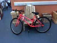 Apollo Mitro, Neon Pink Bicycle.
