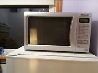 Sharp 800 W Microwave, good condition for sale only £30