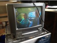 Aiwa VCR TV with Scart cable