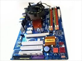 ASRock P5B Pro LGA775 motherboard Intel® Core™2 Quad CPU Q6600 4GB RAM