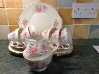 21 piece China tea set