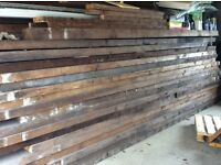 Large amount of recycled timber various sizes