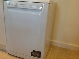 Very good condition washing machines, dish washer and matching cabinets