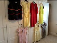 Selection of NEVER WORN women's dresses sizes 10-12