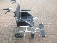 Days Lightweight Manual Wheelchair. As new. Feel free to contact me.
