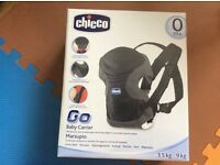 Chicco baby carrier Brand new