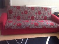 Three seater bed settee