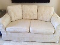 Free 2 Seater Sofa with removable covers that have recently been washed, very comfortable.