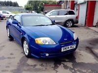 2004 Hyundai Coupe 1.6 full year mot nice looking car