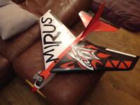 Mirus Rc plane/aircraft/aeroplane