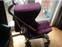Mamas and Papas Ziko Frankie Buggy with liner and footmuff