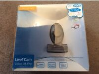 LIve! CAm Video IM Pro camera, in original packaging,used v little