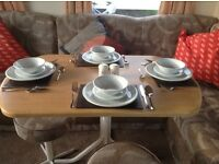 6 berth caravan for hire at sandylands park dean resort Ayrshire
