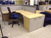 Office desk and chairs and more