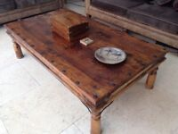 Solid wood coffee table £100 Ono