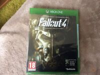 Fallout 4 Xbox one game still in wrapping