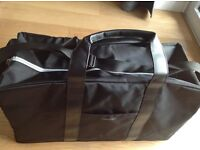 CALVIN KLEIN - NEW large holdall overnight bag - carry handles or shoulder strap options - Black
