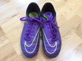 Nike hypervenom football boots size 3.5