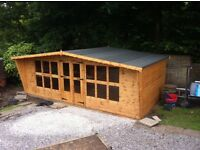 20x8 quality t&g summer house