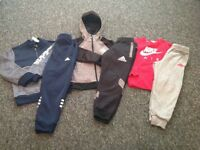 Boys tracksuits x3 aged 6-7