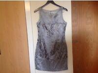 Oasis botanic patterned dress size 12 like new
