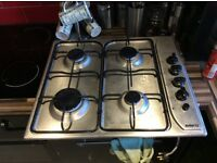 Fitted a new ceramic plate, so gas hob in good condition for sale