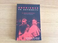 Psychology book Obedience to authority NEW