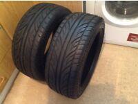 2 Almost New Accelera 215/45ZR16 90W Tyres