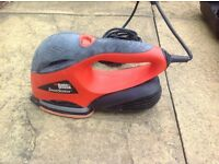 Black and decker sander and accessories
