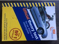 DSA theory test book for cars and motorcycles