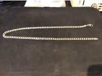 Men's curb chain 33.1 grams