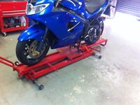 MOTOR BIKE LIFT SEALEY