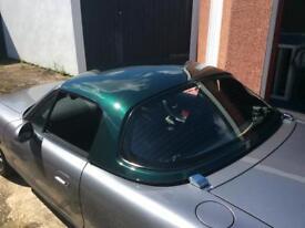 Mazda MX-5 mx5 hardtop roof. British racing green. Great Condition. Heated window