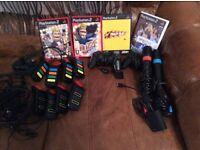 PlayStation 2 games and controllers for sale
